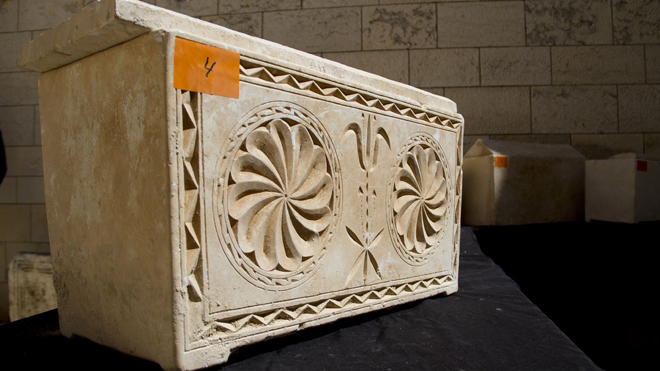 Israel uncovers ancient burial boxes dating back to time of Jesus
