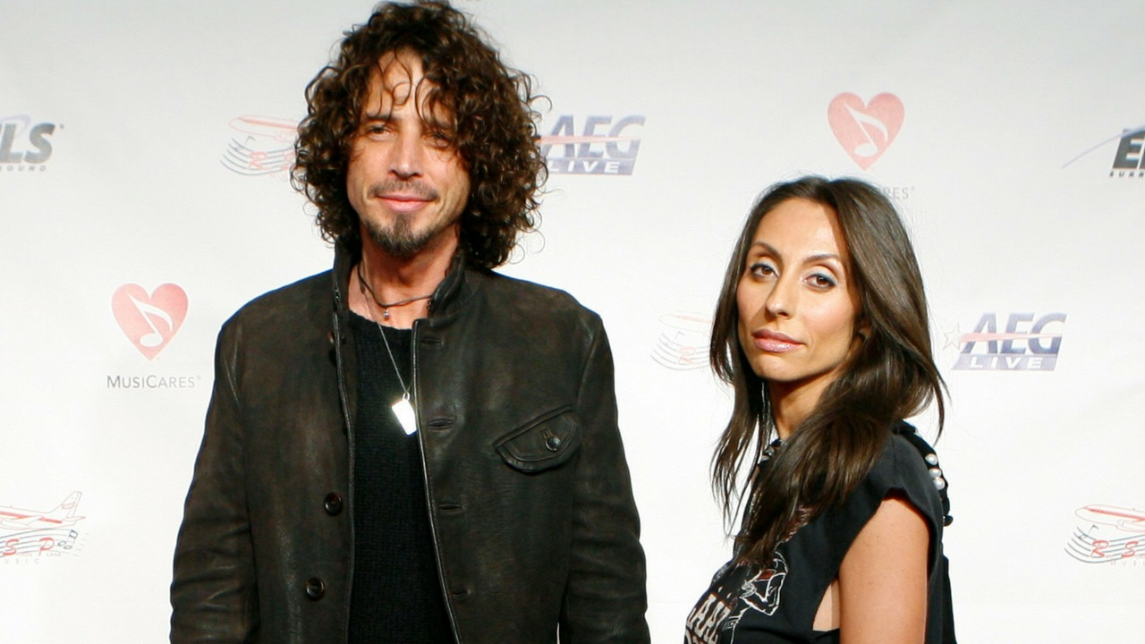 Westlake Legal Group chris-and-vicky Chris Cornell's widow, Vicky, sues Soundgarden over royalties, unreleased recordings: report Variety Jem Aswad fox-news/entertainment/music fox-news/entertainment/events/in-court fox-news/entertainment fnc/entertainment fnc cea32cd0-c9ad-5e4c-979d-954a5c29603d article