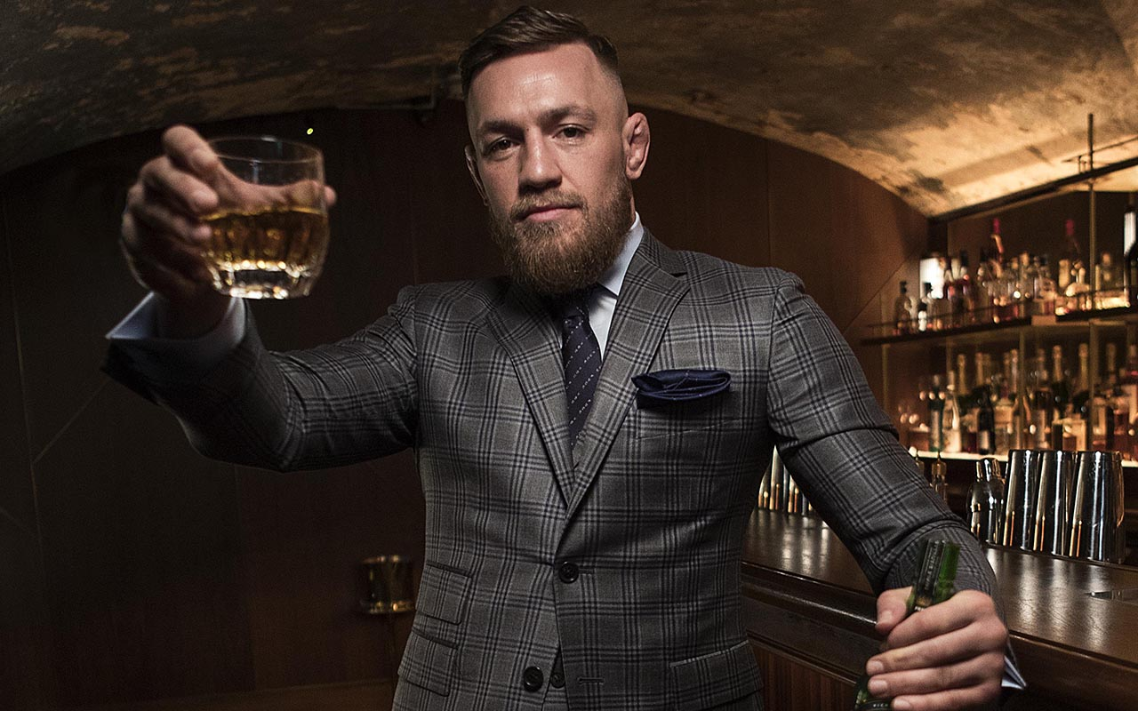 Conor McGregor apologizes for selling out of whiskey