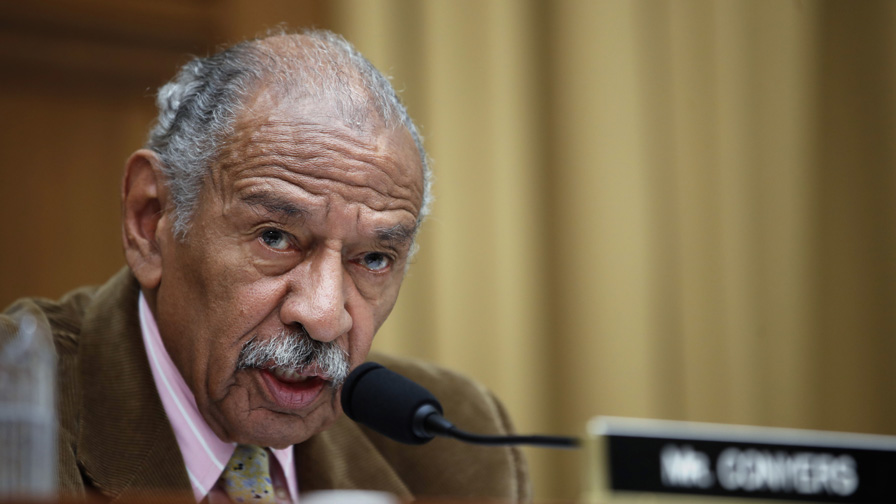 John Conyers, langjähriger Michigan-Kongressabgeordnete und Congressional Black Caucus Gründer, tot 90, Polizei sagen