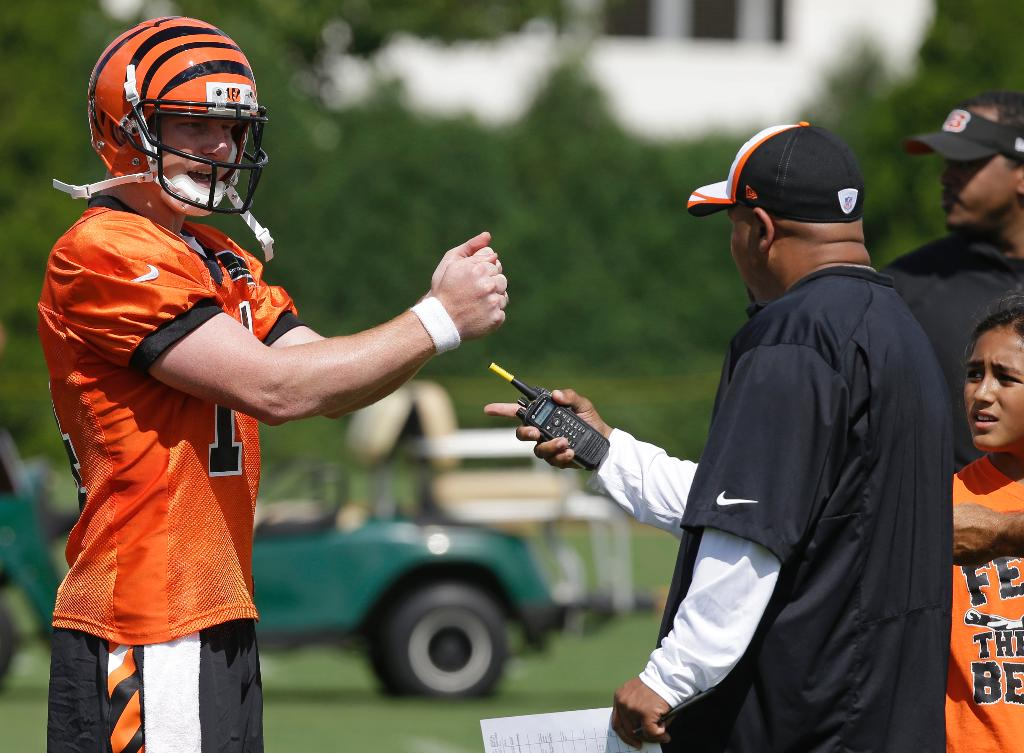 With contract talks ongoing, Dalton's future with Bengals secure ... for now