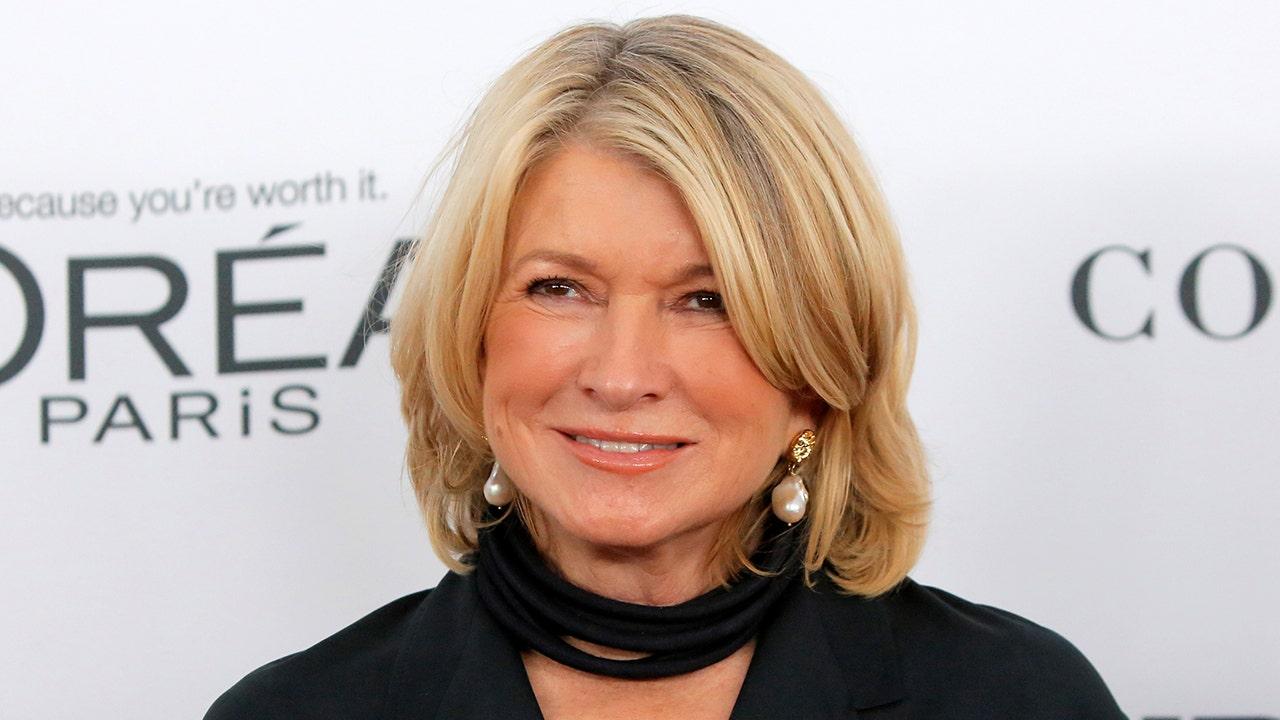 Martha Stewart looks unrecognizable in new photo