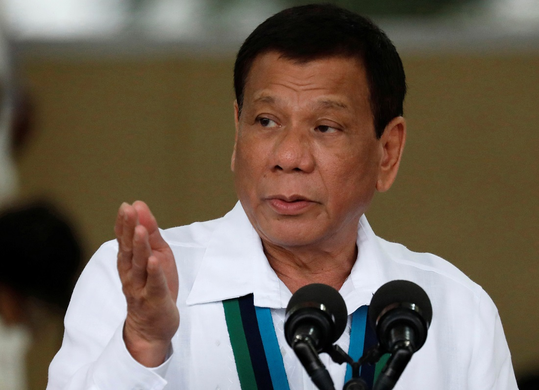 Philippines' Duterte vows to resign if anybody can prove God exists