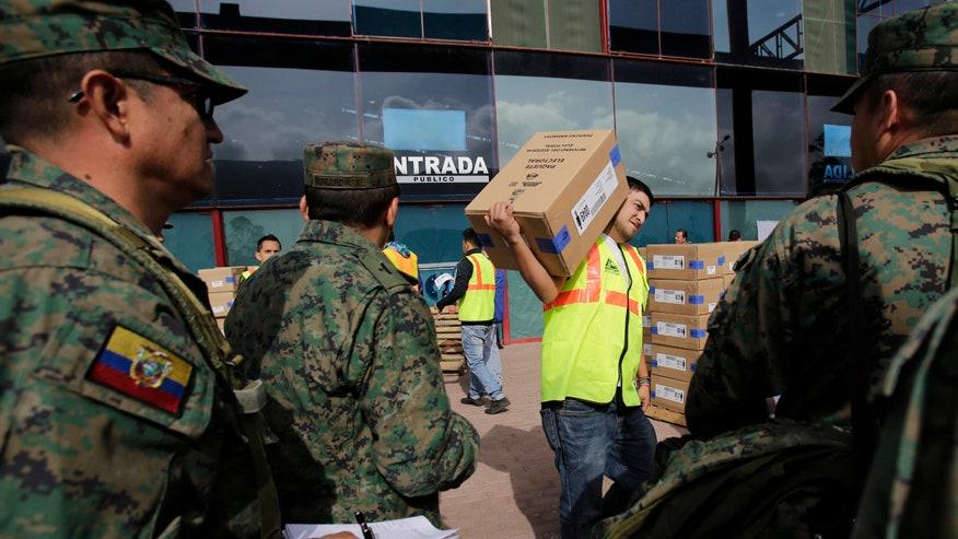 Voters in Ecuador choosing between change, continuity