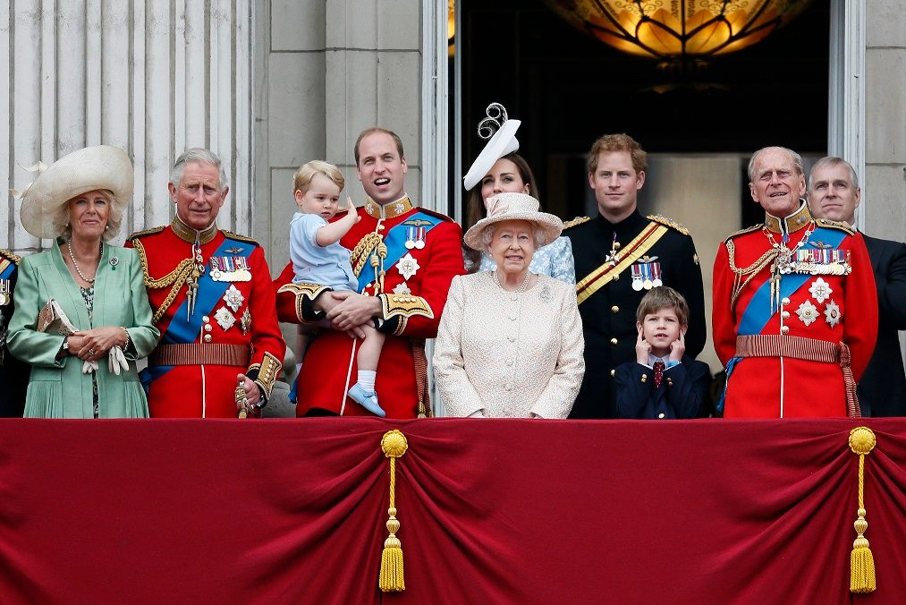 Here's the line of succession to the British throne
