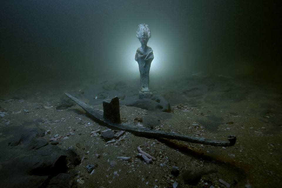 Ancient Roman shipwrecks, stunning artifacts, discovered near Egyptian port