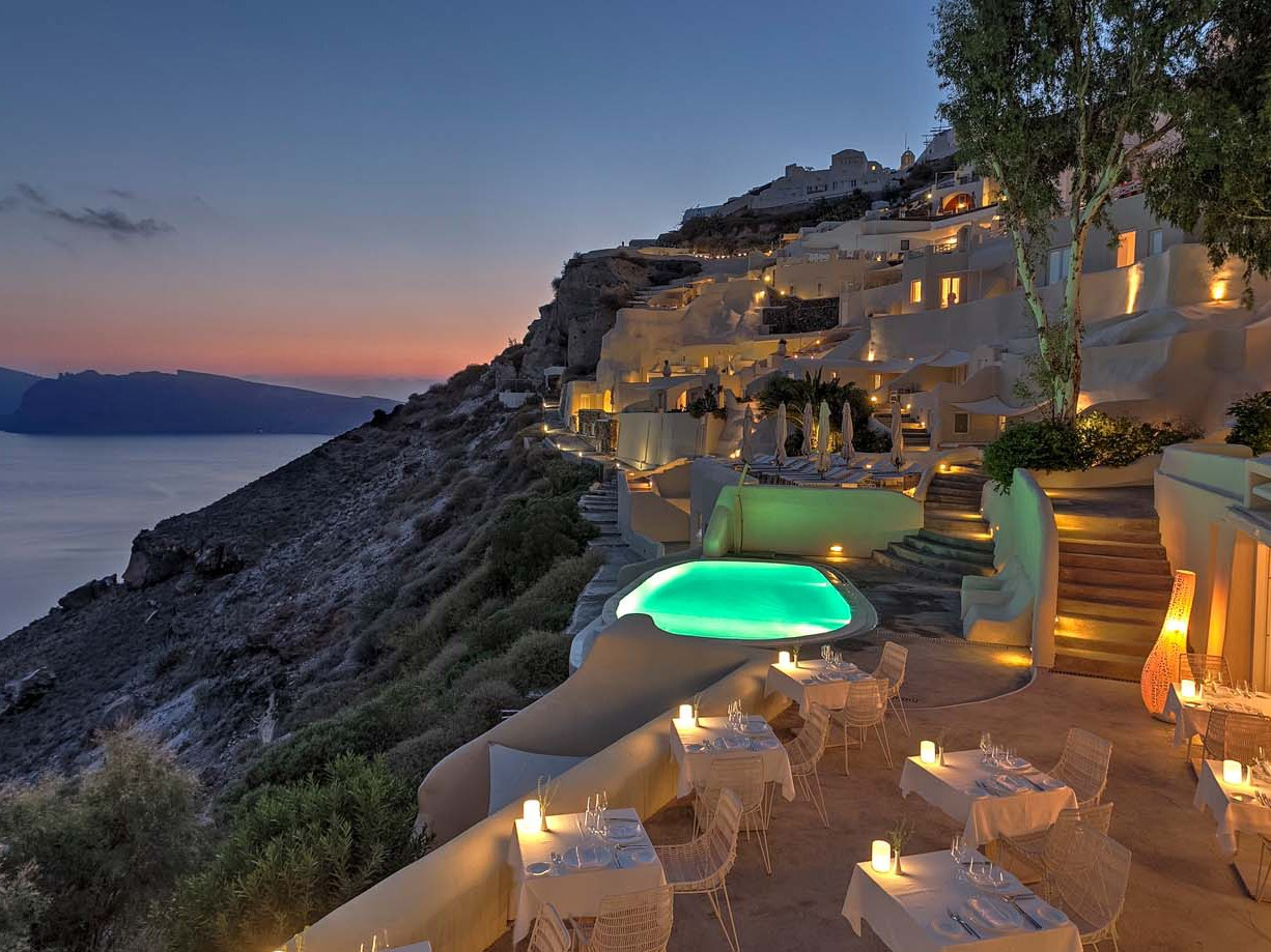 The most beautiful clifftop hotels in the world