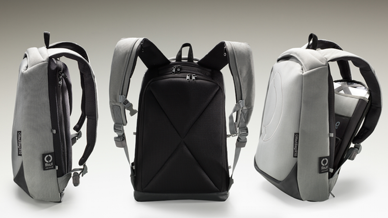 Secure travel backpack may be pickpocket and thief proof