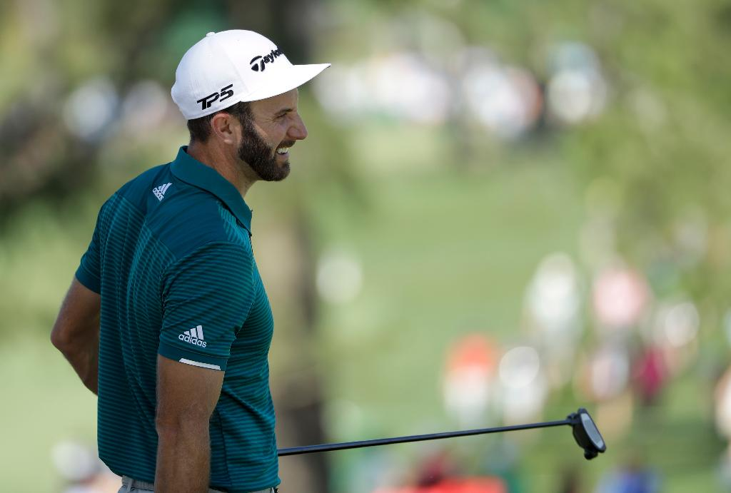 Dustin Johnson, No. 1 and headed in the right direction
