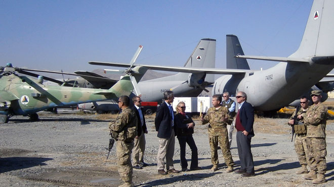 Probe launched over $500M spent on Afghanistan planes now sitting idle