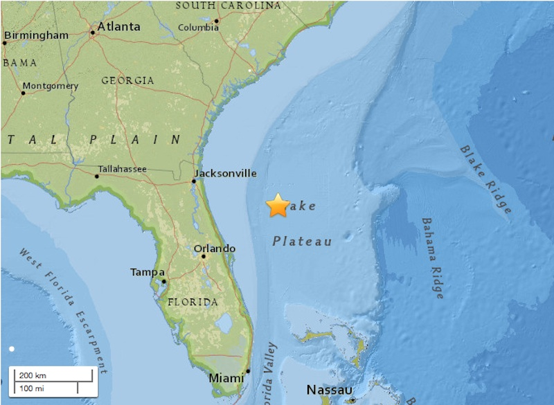 Why Florida's recent earthquake is so rare