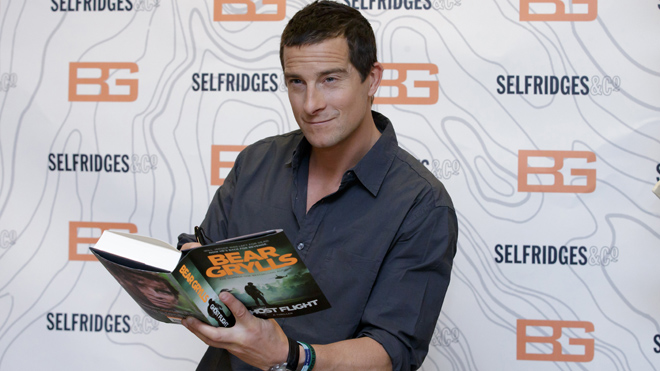 Bear Grylls unrecognizable after life-threatening allergic reaction to bee sting