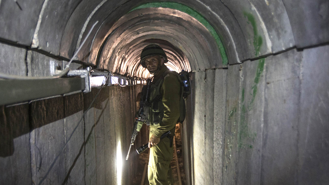 Hamas reportedly executing tunnel diggers to keep locations secret
