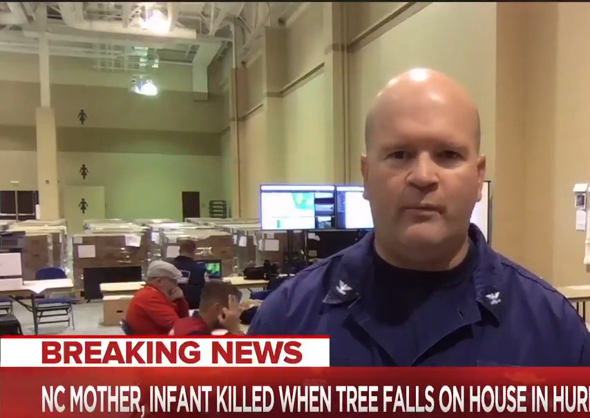 US Coast Guard member 'removed' after making 'offensive' OK sign on live TV