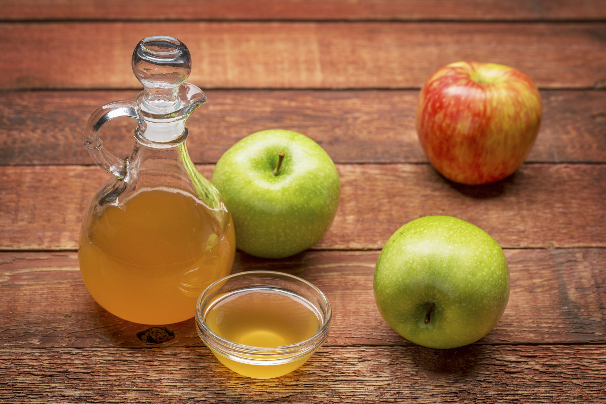 The real health benefits of apple cider vinegar