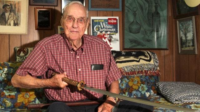 World War II veteran to return 'souvenir' Japanese sword