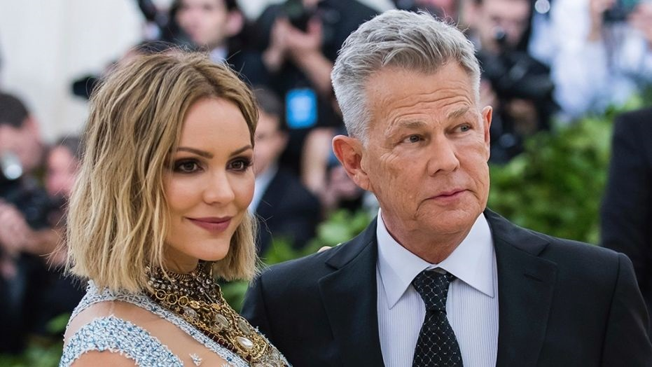 Katharine McPhee reveals she had to 'process' 35-year age gap with husband David Foster