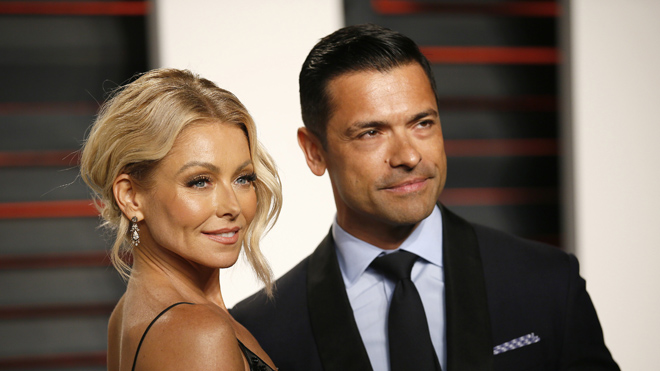 Mark Consuelos gushes over Kelly Ripa in string bikini on 23rd wedding anniversary: 'My view'