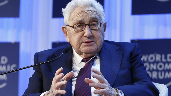 Kissinger, in Beijing, warns US-China trade war could spark conflict worse than WWI