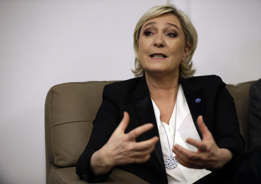 Is Le Pen mightier than the sword?