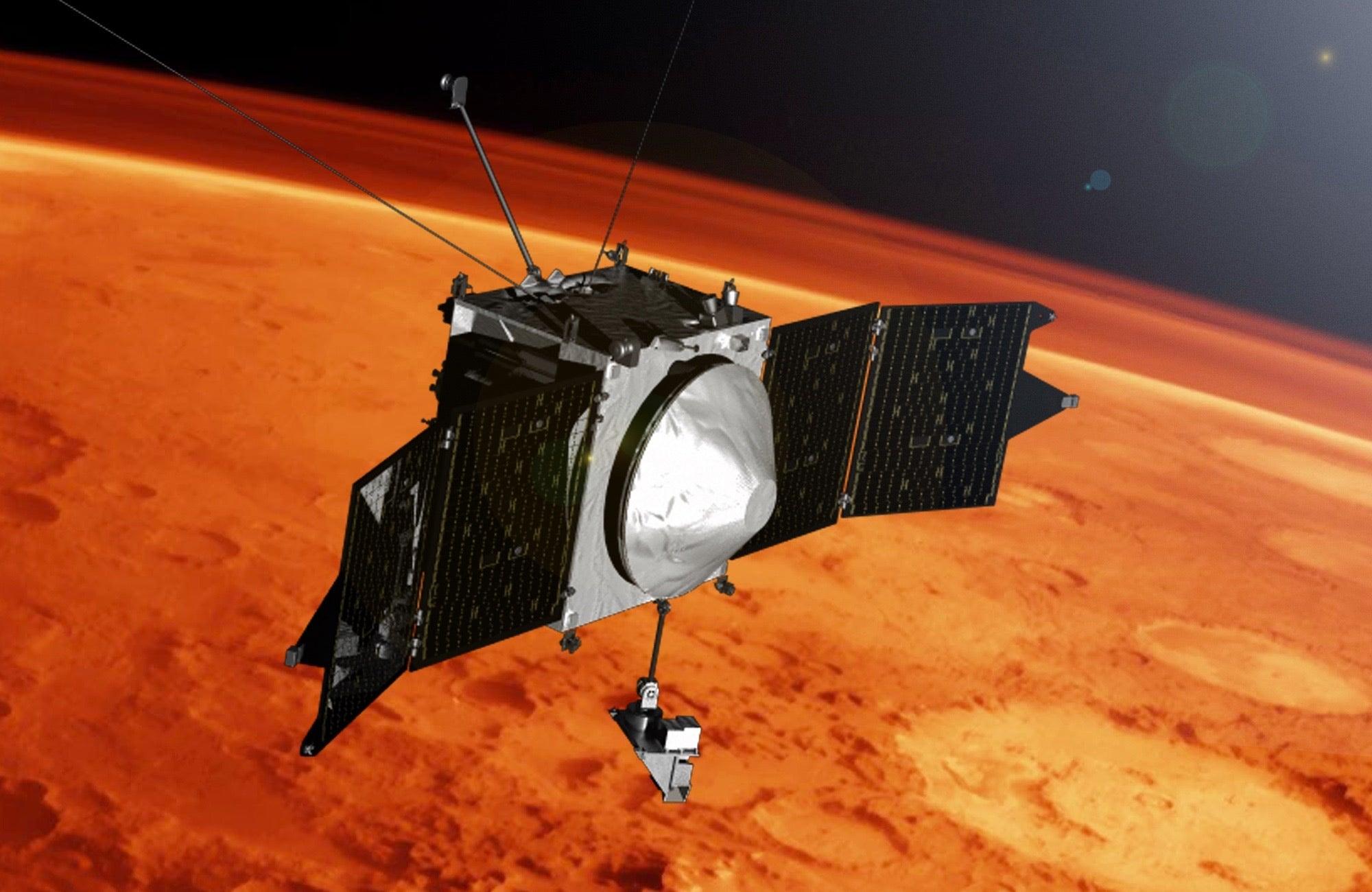 Metal detected in Mars' atmosphere
