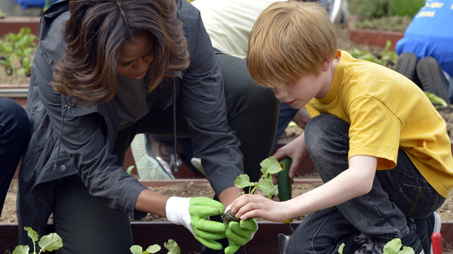 Michelle Obama will fight to the 'bitter end' in school lunch battle