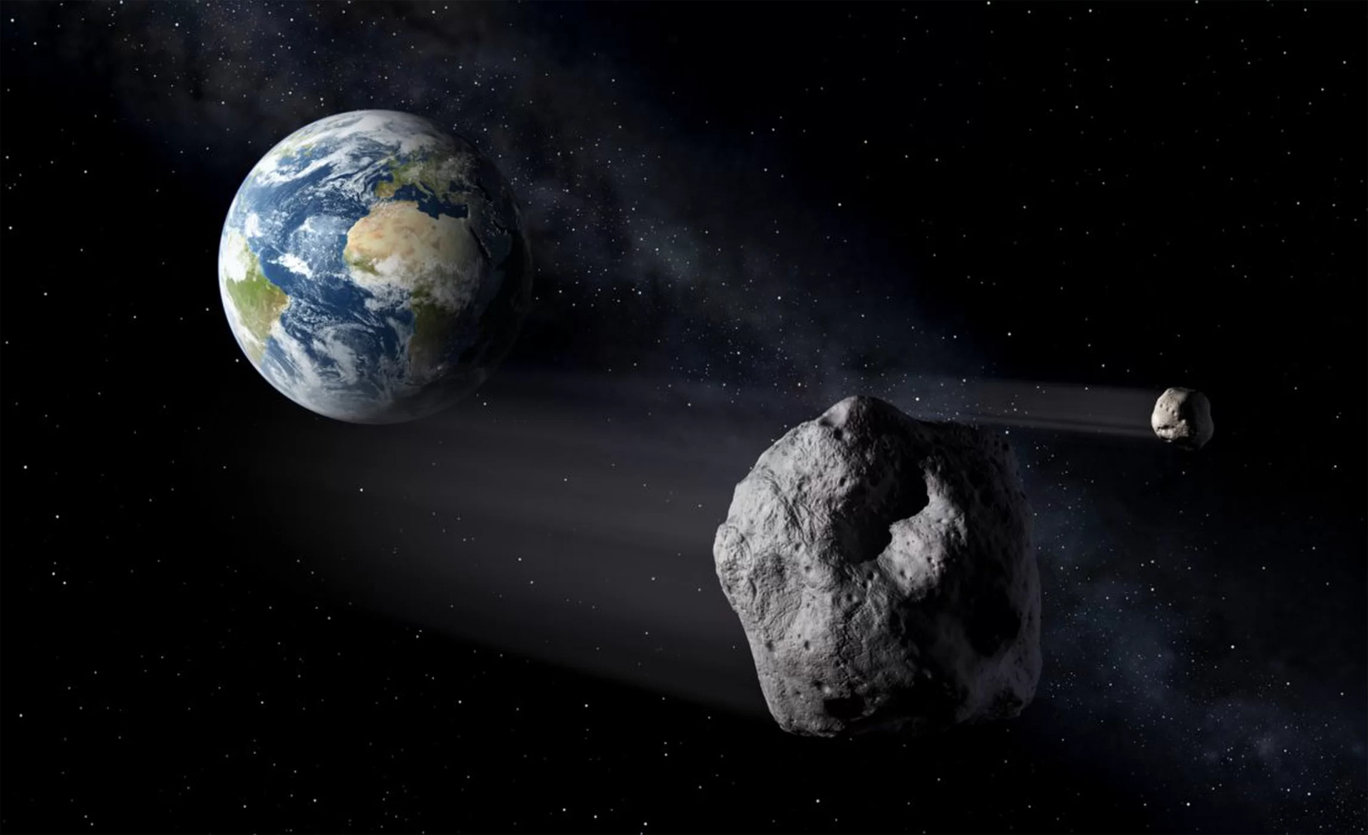 NASA emails reveal space agency unaware of 'city-killer' asteroid until last moment: 'This one did sneak up...