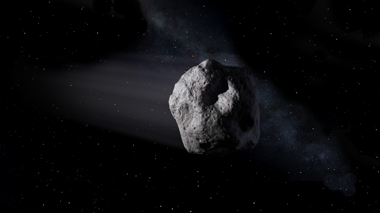 Big, shiny asteroid to fly (safely) past Earth on April 19
