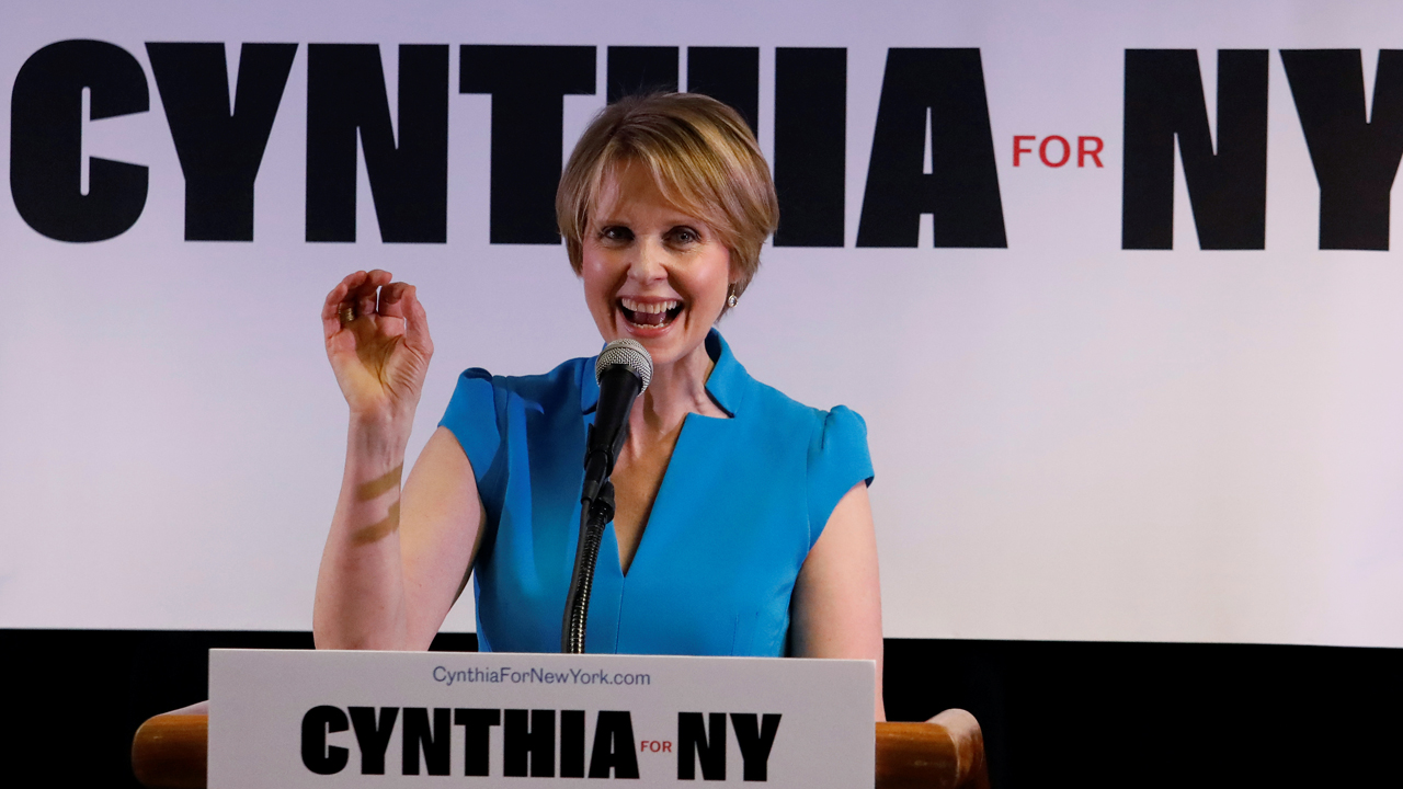 Cynthia Nixon calls ICE  'terrorist organization,' says it should be abolished