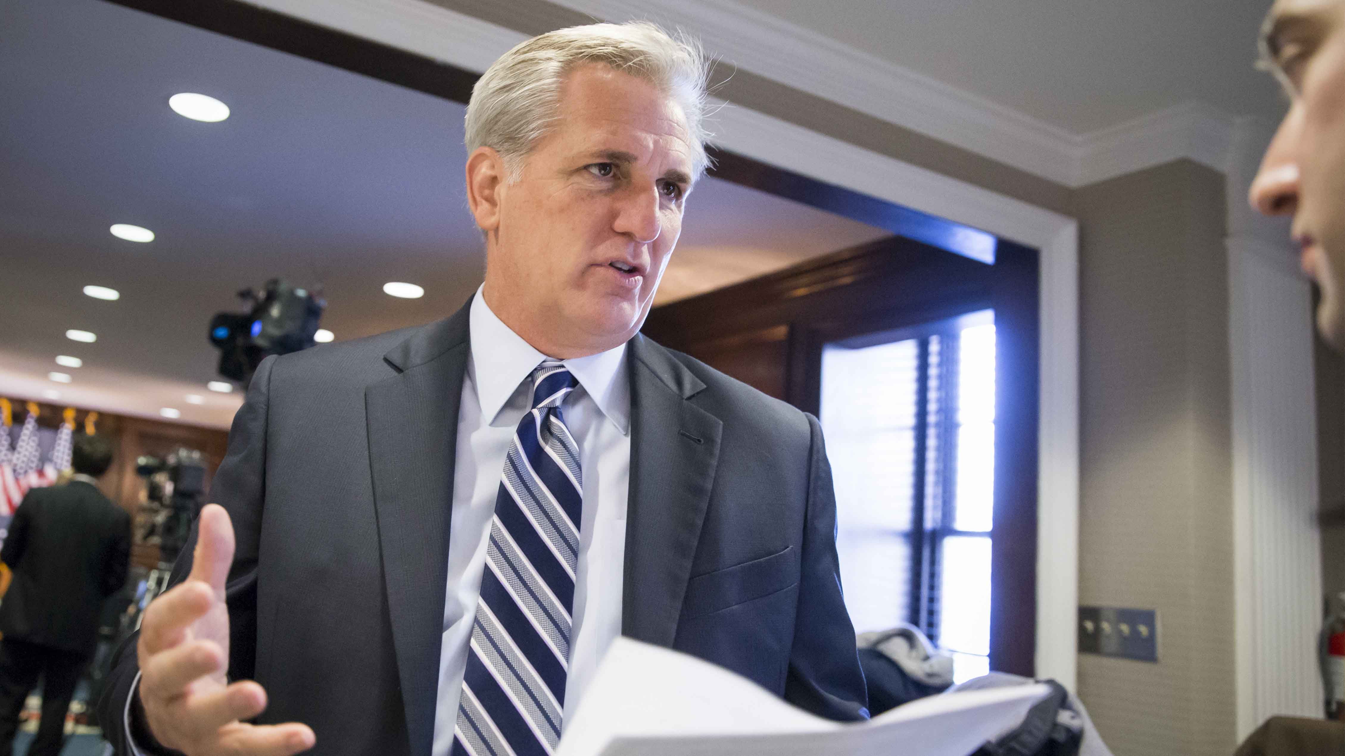 McCarthy introducing bill to fully fund Trump border wall