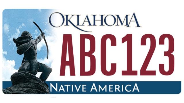 Methodist minister challenges Oklahoma license plate