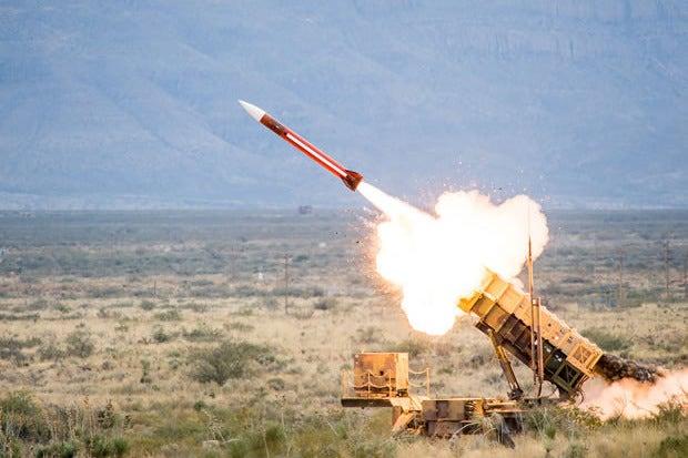 Irakische Scud-Tötung Golfkrieg Patriot-Raketen