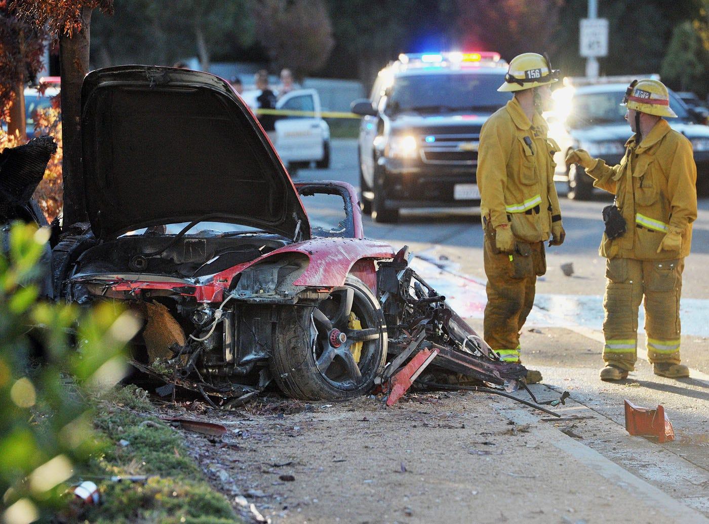 Eyewitness to Paul Walker crash describes gruesome scene