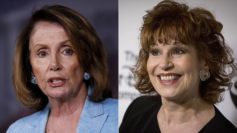 Liberal 'The View' host says she suspects Pelosi wants a moderate Democrat in 2020 after cocktail party chat