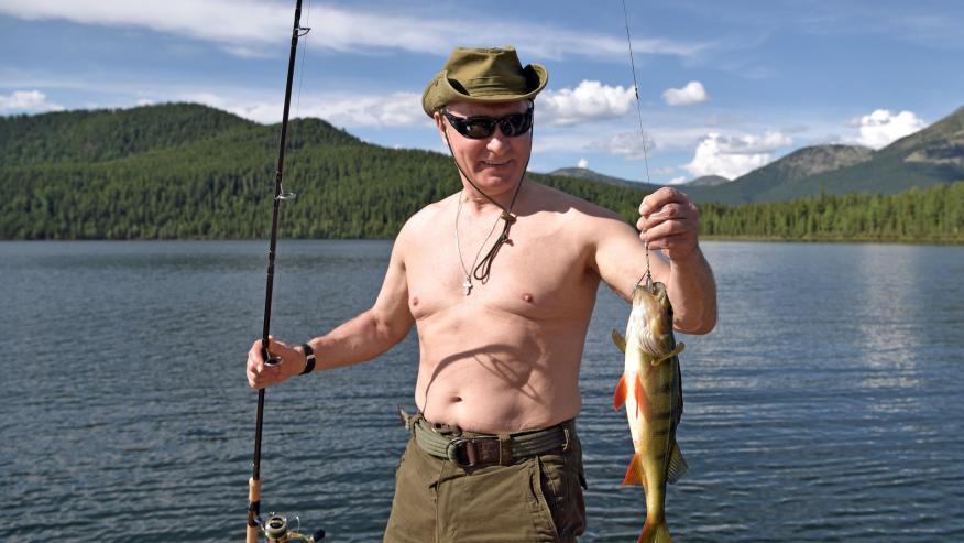 Vladimir Putin's strangest propaganda moments