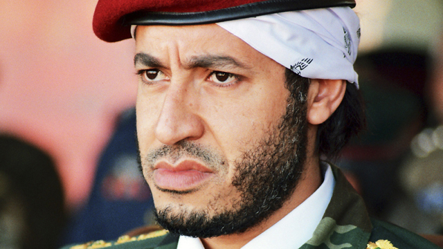 Gadhafi's son freed after 7-plus years in detention, officials say