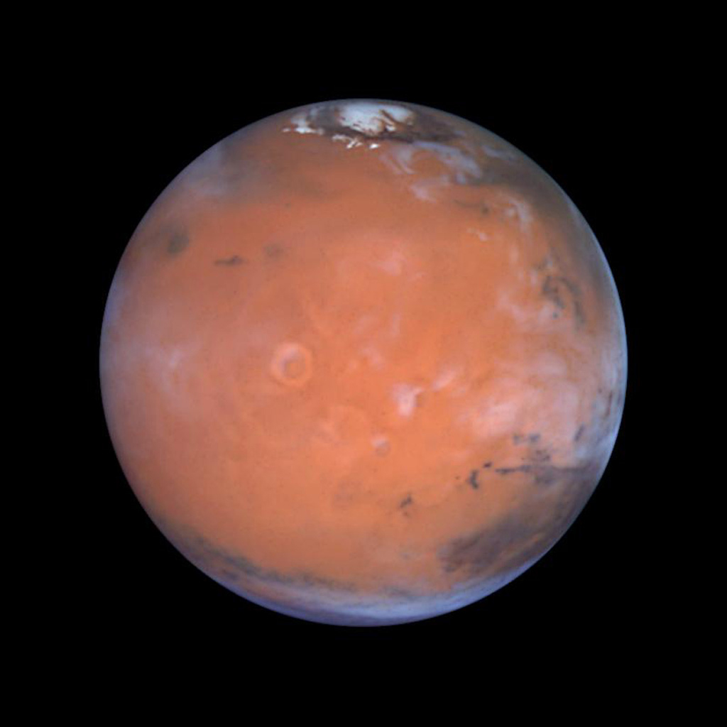 Water ice mystery found at Martian equator