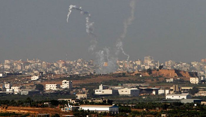 Wave of rocket attacks on Israel signal power struggle in Gaza