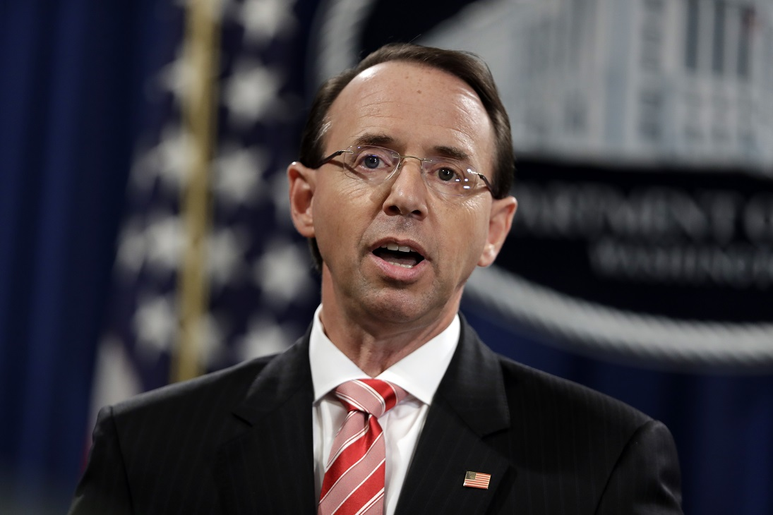 Westlake Legal Group rosenstein Rod Rosenstein says he authorized release of Strzok-Page texts: DOJ Nick Givas fox-news/tech/topics/fbi fox-news/politics/justice-department fox-news/person/robert-mueller fox-news/person/donald-trump fox-news/news-events/russia-investigation fox news fnc/politics fnc c56acea4-cd99-5e11-a348-03e2a8a8c26e article