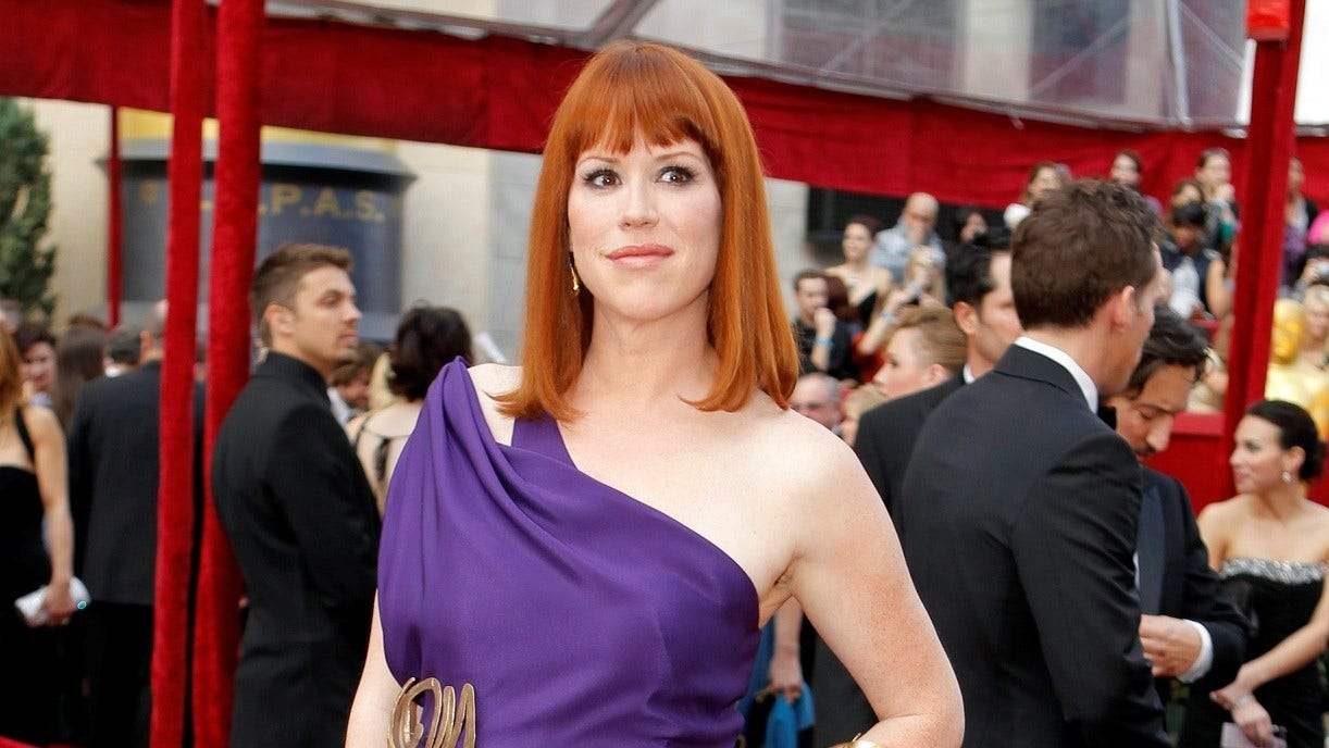 Molly Ringwald says people thanked her after her essay discussing her hit films and #MeToo era