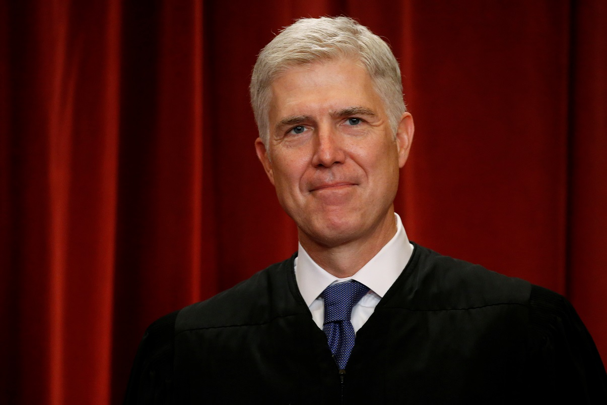 Westlake Legal Group rtx38jv0 Gorsuch sides with liberals in shooting down tougher sentences for gun crimes Ronn Blitzer fox-news/politics/judiciary/supreme-court fox news fnc/politics fnc article 1f6e2af4-0971-5540-b3f0-0775334883fa
