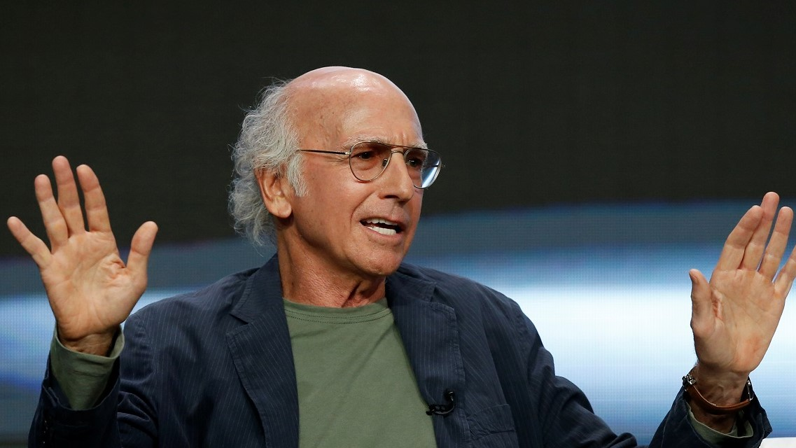 Larry David urges 'idiots' still out socializing to 'watch TV' in funny coronavirus PSA