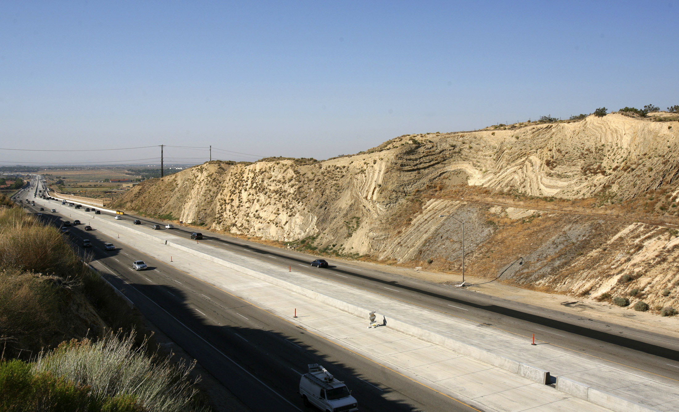 Movement on a vast scale detected near San Andreas fault