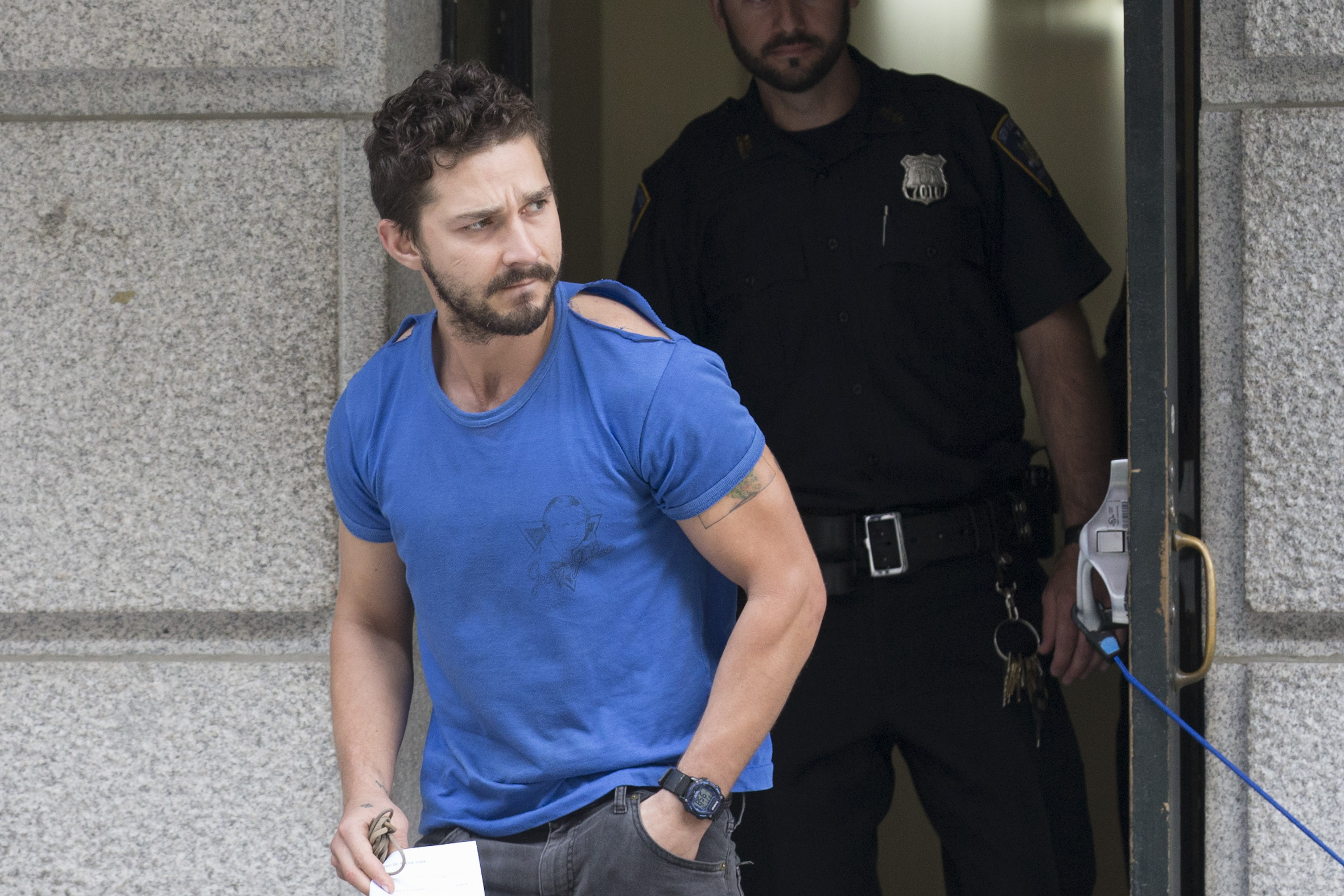 Shia LaBeouf removed from Broadway theater after disorderly conduct, police say