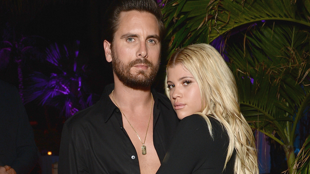 Scott Disick responds to Sofia Richie's topless snap tease