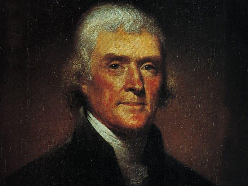 Rare Thomas Jefferson letter railing against England discovered in attic trove