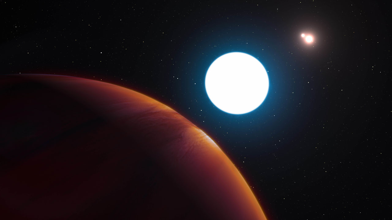 Newly discovered planet has triple sunrises, sunsets