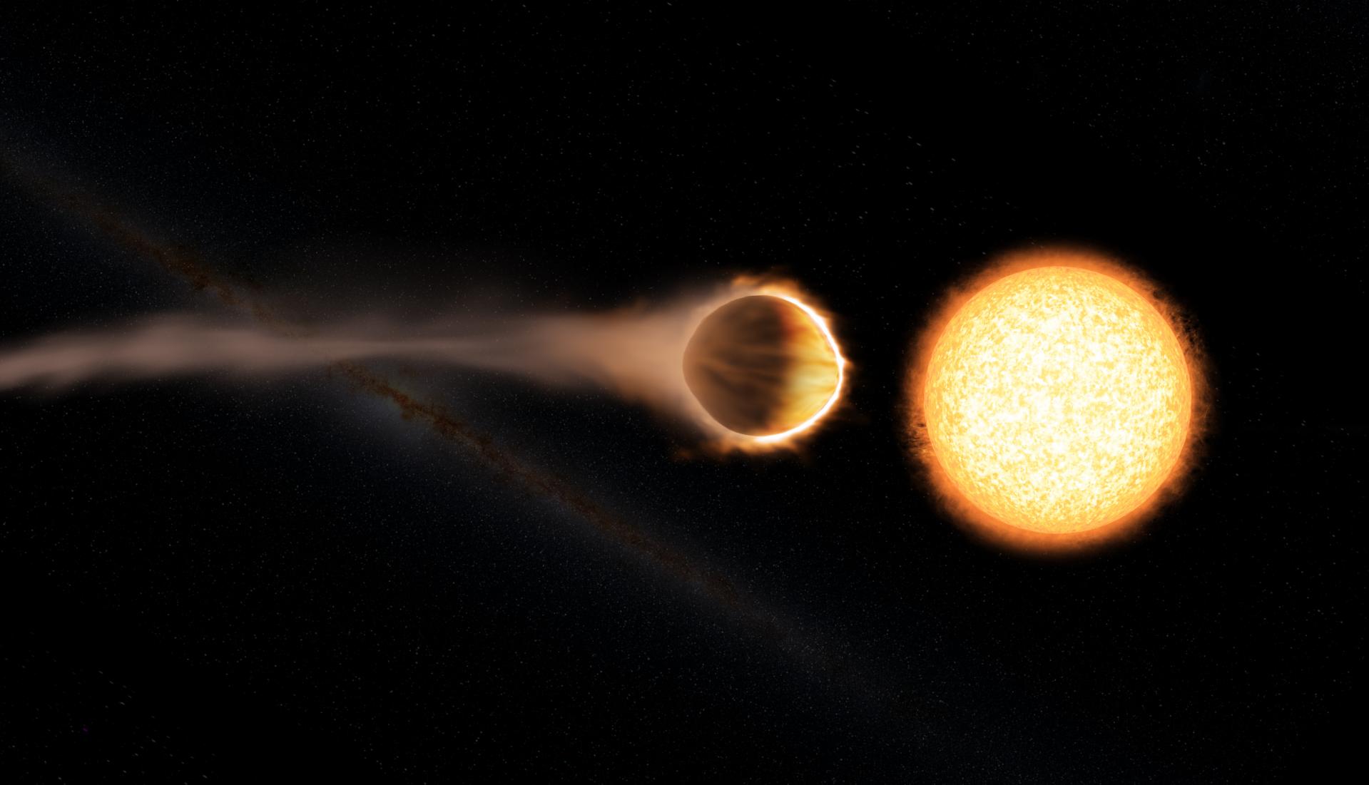 Hubble Telescope detects stratosphere on huge alien planet