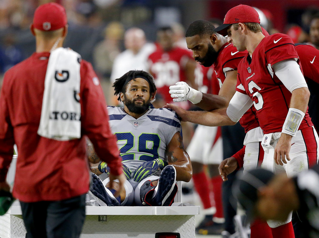 Seattle Seahawks player breaks leg, sends parting message to team