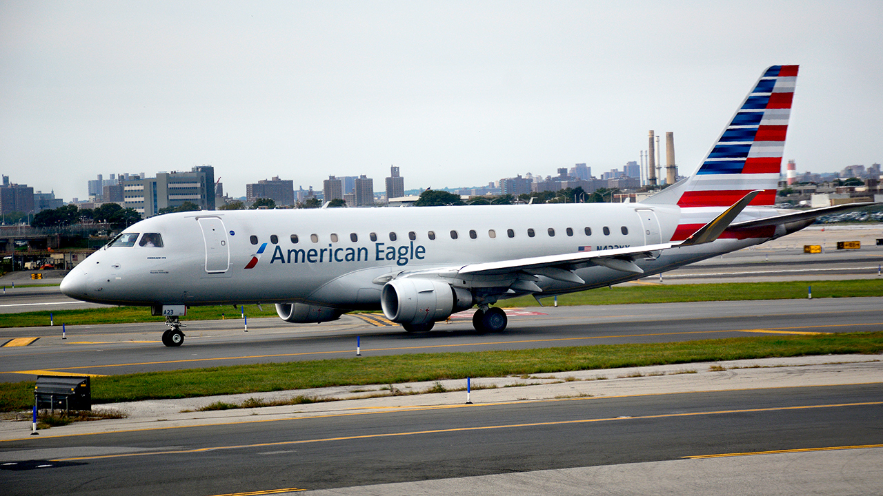 Westlake Legal Group AmericanEagleRobertAlexanderGettyImages Woman seeking bigger seat on plane faked medical emergency: cops Tamar Lapin New York Post fox-news/travel/general/airports fox-news/travel fnc/travel fnc article a37eb2e0-161b-5cac-9a25-ad74f5d4bdbb